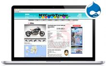 ndiSIGN web development MyCaribTrader