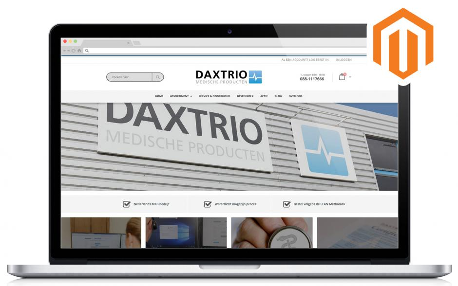 ndiSIGN web development Daxtrio