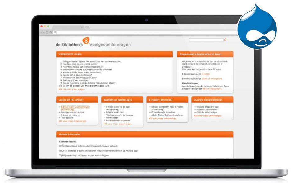 ndiSIGN web development Bibliotheek