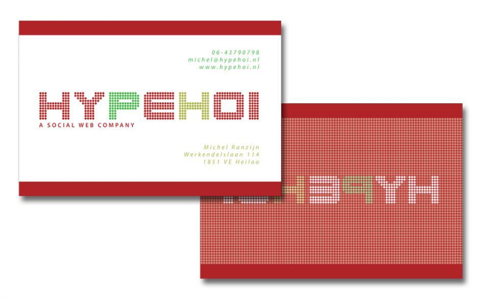 ndiSIGN grafisch Visitekaartje Hypehoi